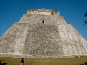 Grand Temple of Uxmal, Yucatan, Dave Millers Mexico
