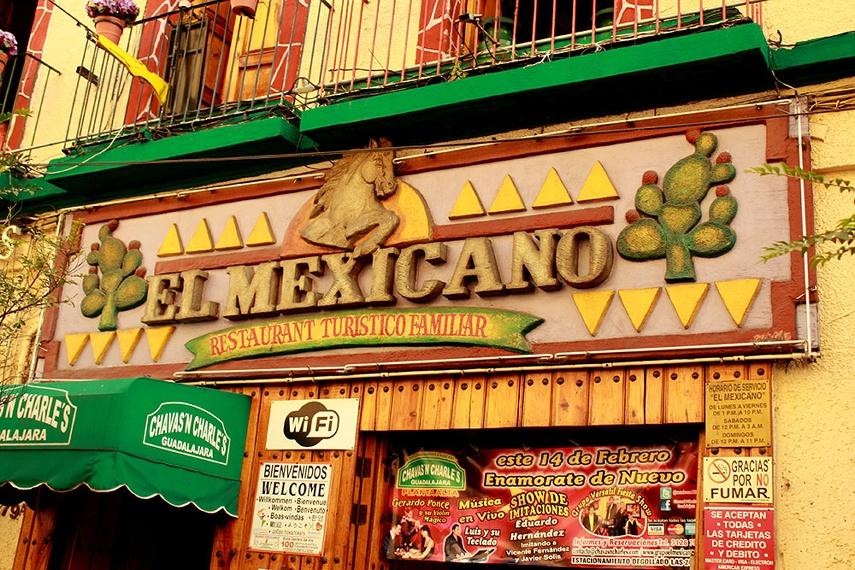 El Mexicano, Guadalajara, Dave Millers Mexico, Review