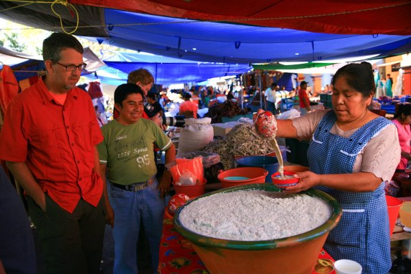 Oaxaca,Ocotlan, tejate, Dave Miller, Dave Millers Mexico,
