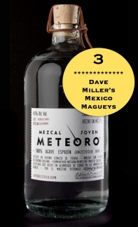 Mezcal Meteoro, Dave Millers Mexico, Mezcal Reviews