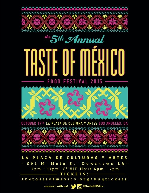 Taste of Mexico, Los Angeles, DTLA, Mexican Food