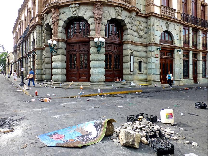 Oaxaca Teachers Protest 2016