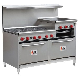 liquid-propane-cooking-performance-group-60-cpgv-6b-24rg-s26-6-burner-gas-range-with-24-raised-griddle-broiler-and-two-26-1-2-standard-ovens